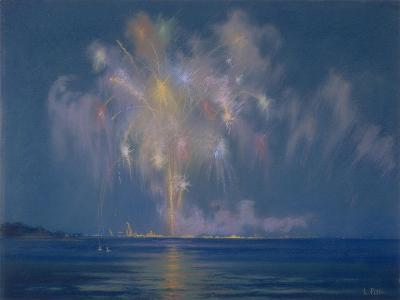 The Grand Finale, Late 19th-Early 20th Century (Pastel on Paper)-Lendall Pitts-Giclee Print