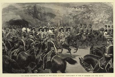 The Grand Historical Pageant at the Royal Military Tournament of the 3rd Hussars and the Buffs--Giclee Print