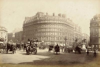The Grand Hotel, Trafalgar Square, London, C.1885--Photographic Print