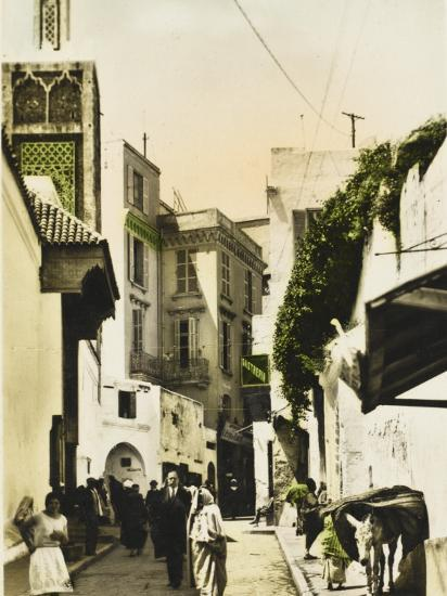 The Grand Mosque - Tangiers, Morocco--Photographic Print