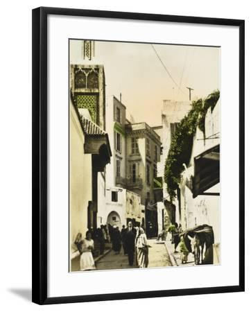 The Grand Mosque - Tangiers, Morocco--Framed Photographic Print