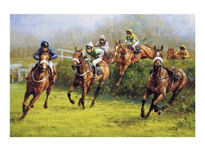 The Grand National (Monty's Pass)-Graham Isom-Collectable Print