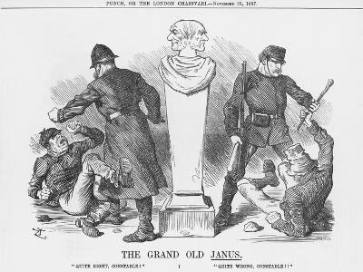 The Grand Old Janus, 1887-Joseph Swain-Giclee Print