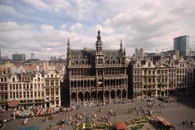 The Grand' Place in Brussels-Vittoriano Rastelli-Photographic Print
