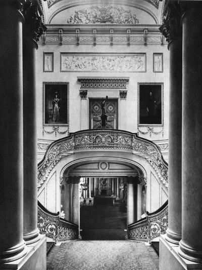 The Grand Staircase in Buckingham Palace, London, 1935--Giclee Print