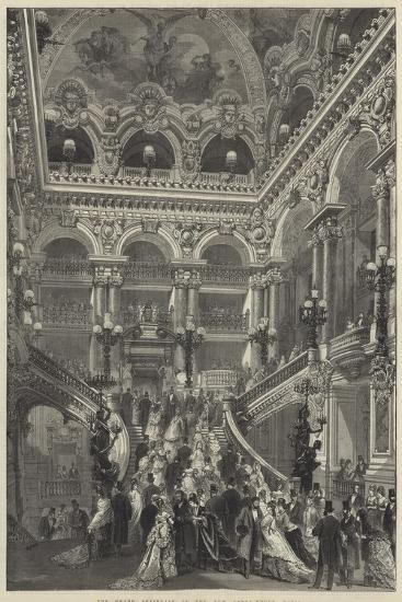 The Grand Staircase in the New Opera-House, Paris--Giclee Print