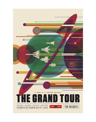 The Grand Tour-Vintage Reproduction-Art Print