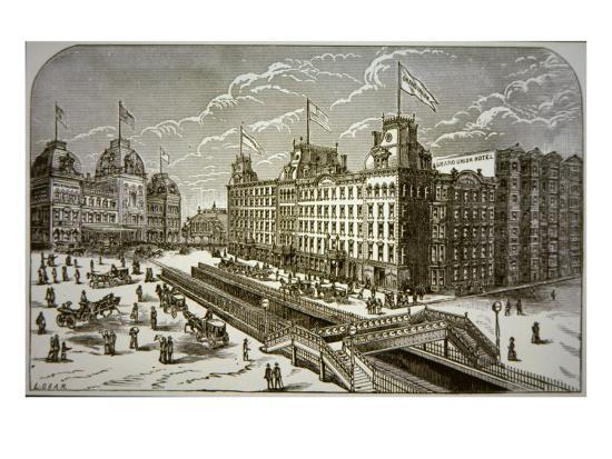 The Grand Union Hotel, New York City--Giclee Print