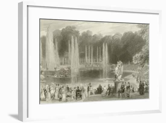 The Grand Waterworks-Eugene-Louis Lami-Framed Giclee Print