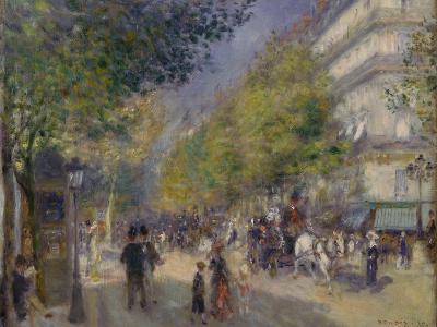 The Grands Boulevards, 1875-Pierre-Auguste Renoir-Giclee Print