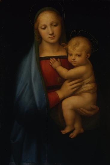 The Granduca Madonna-Sanzio Raffaello-Giclee Print