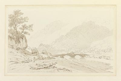 The Grange of Borrodale (Pen and Ink with W/C over Graphite on Wove Paper)-Joseph Farington-Giclee Print