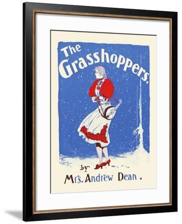 The Grasshoppers by Mrs. Andrew Dean--Framed Art Print