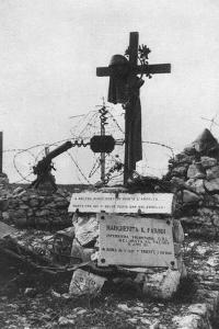 The Grave of an Italian Red Cross Volunteer Nurse, C1918