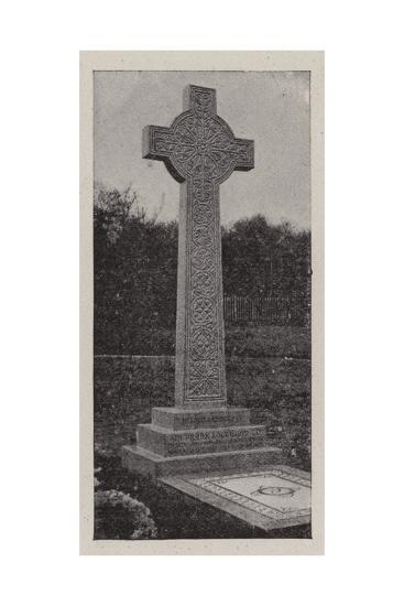 The Grave of Sir Frank Lockwood--Giclee Print
