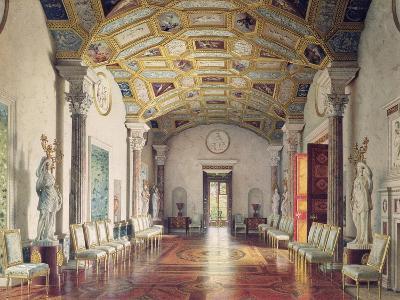 The Great Agate Hall in Catherine Palace in Tsarskoye Selo, 1859-Luigi Premazzi-Giclee Print