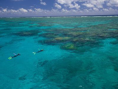 The Great Barrier Reef Out of Port Douglas in Australia-Michael Melford-Photographic Print