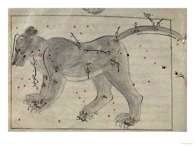 The Great Bear, from the Book of the Stars after El Hussein--Giclee Print