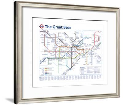 The Great Bear-Simon Patterson-Framed Giclee Print