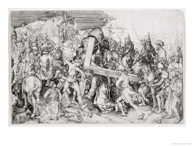 The Great Bearing of the Cross, c.1474-Martin Schongauer-Giclee Print