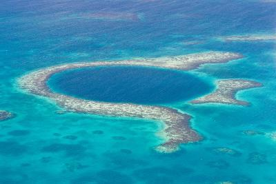 The Great Blue Hole-wollertz-Photographic Print