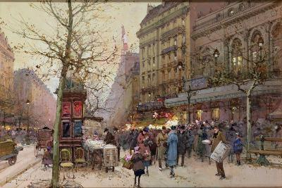 The Great Boulevards-Eugene Galien-Laloue-Giclee Print
