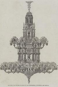 The Great Chandelier by Defries in the International Exhibition