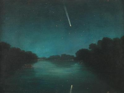 The Great Comet of 1861 as Seen from Staines Bridge, Middlesex--Giclee Print