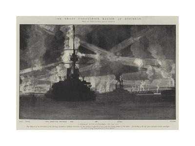 The Great Coronation Review at Spithead-Fred T. Jane-Giclee Print