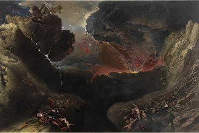 The Great Day of His Wrath, C.1851-53-John Martin-Giclee Print