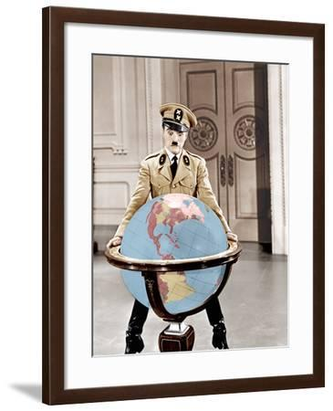 The Great Dictator, Charles Chaplin, 1940--Framed Photo