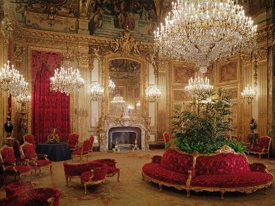 The Great Drawing Room of the Napoleon Iii Apartments, C.1861 (Colour Photo)--Giclee Print