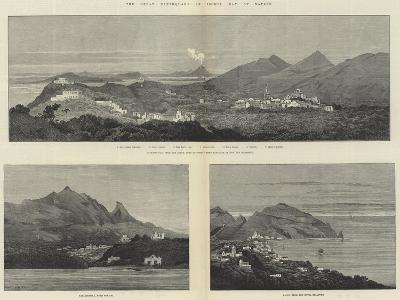 The Great Earthquake in Ischia, Bay of Naples-Charles Auguste Loye-Giclee Print