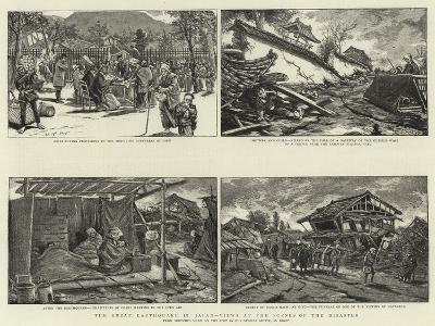 The Great Earthquake in Japan, Views at the Scenes of the Disaster--Giclee Print