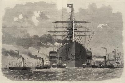 The Great Eastern Rounding the Point Opposite Blackwall-Edwin Weedon-Giclee Print