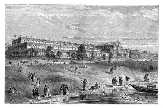 The Great Exhibition, Hyde Park, London, C1851, (1888)--Giclee Print