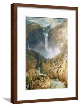 The Great Falls of the Reichenbach, 1804-J^ M^ W^ Turner-Framed Giclee Print