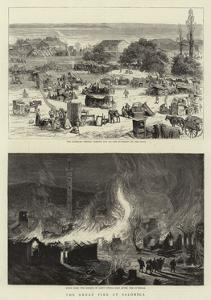 The Great Fire at Salonica