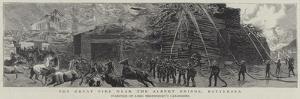 The Great Fire Near the Albert Bridge, Battersea