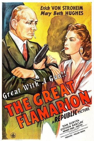 The Great Flamarion--Art Print