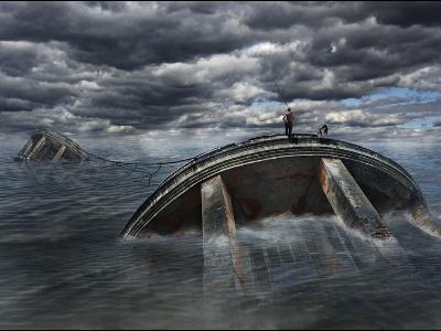 The Great Flood-Viktor Pozdnyak-Photographic Print