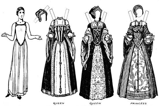 'The Great Gallery of British Costume: Dress Worn in Henry The Eighth's Time', c1934-Unknown-Giclee Print