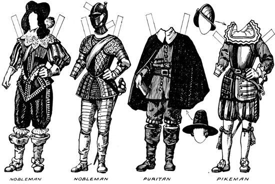 'The Great Gallery of Historic Costume: Dresses Worn in James The First's Reign', c1934-Unknown-Giclee Print