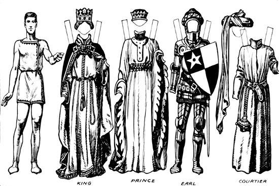 'The Great Gallery of Historic Costume: How People Dressed in Henry IV's Reign', c1934-Unknown-Giclee Print