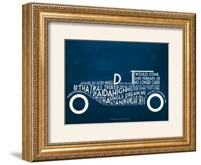 The Great Gatsby--Framed Art Print