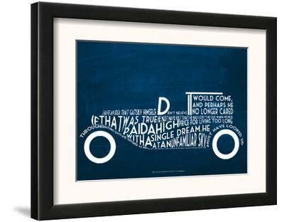 The Great Gatsby--Framed Art Print