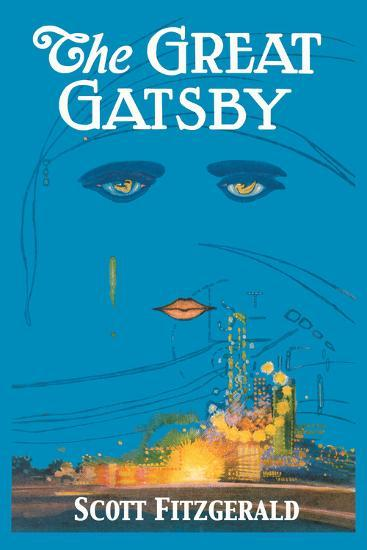 The Great Gatsby-Francis Cugat-Premium Giclee Print