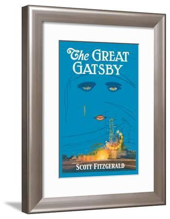 The Great Gatsby-Francis Cugat-Framed Art Print