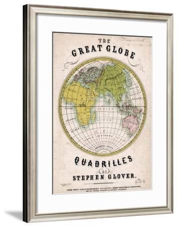 The Great Globe--Framed Giclee Print