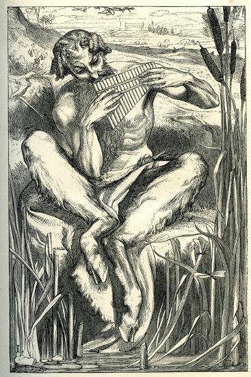 The Great God Pan, 1860-Frederick Leighton-Giclee Print